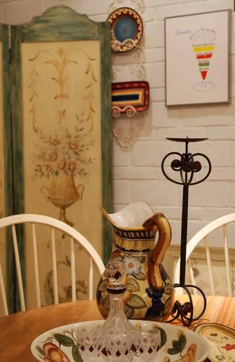 110平米三田园风格客厅装修图片大全