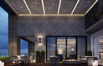 豪华型140平米别墅轻奢风格阳台欣赏图