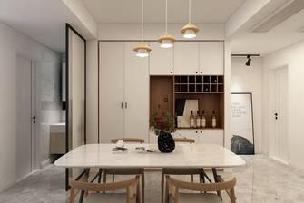 富裕型120平米三室一厅北欧风格餐厅装修效果图