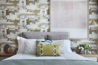 3万以下110平米三室一厅现代简约风格卧室图
