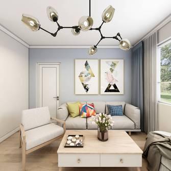 经济型50平米小户型现代简约风格客厅设计图