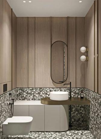 富裕型120平米三室两厅现代简约风格卫生间装修图片大全