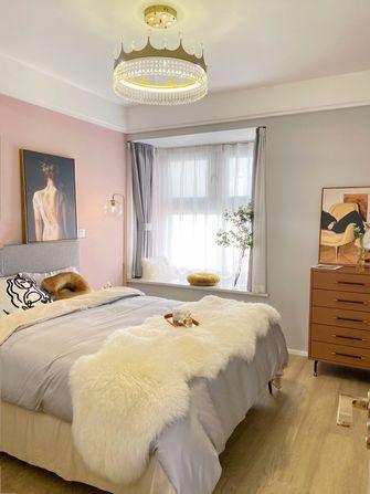 110平米三室两厅轻奢风格卧室效果图