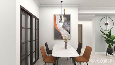 经济型80平米三现代简约风格餐厅欣赏图