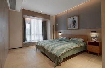 富裕型130平米三室两厅日式风格卧室效果图