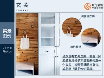 经济型60平米公寓欧式风格玄关欣赏图