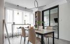 经济型130平米三室两厅混搭风格餐厅图片大全