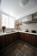 富裕型140平米四室两厅东南亚风格厨房装修效果图
