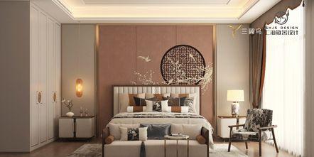 经济型140平米四室两厅中式风格卧室设计图