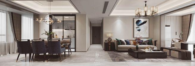 豪华型120平米中式风格客厅装修图片大全
