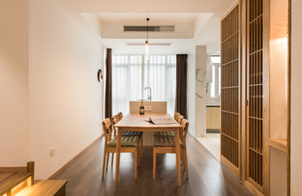 10-15万130平米三室两厅日式风格餐厅装修效果图