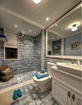豪华型130平米三室两厅地中海风格卫生间装修案例