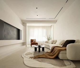 富裕型110平米三室两厅混搭风格客厅图片大全