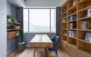80平米三室两厅北欧风格书房图片大全