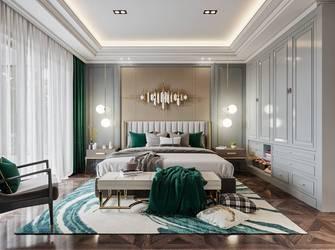豪华型140平米别墅美式风格卧室装修效果图