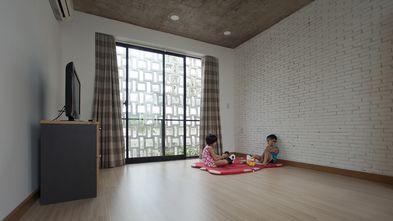 130平米三工业风风格客厅设计图