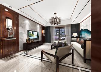 140平米四室两厅中式风格书房装修图片大全