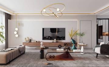 3万以下140平米四轻奢风格客厅图片