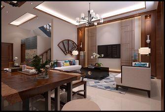 豪华型140平米别墅混搭风格客厅装修图片大全