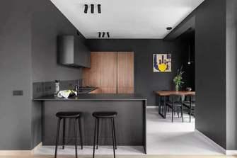 110平米三室两厅工业风风格厨房图片