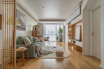10-15万80平米日式风格客厅效果图