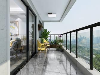 20万以上130平米四室两厅北欧风格阳台装修效果图