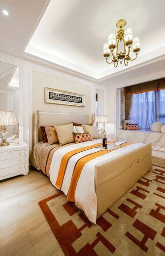 富裕型120平米三室一厅新古典风格卧室装修图片大全