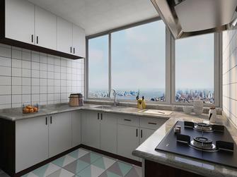 15-20万140平米三室两厅混搭风格厨房装修效果图