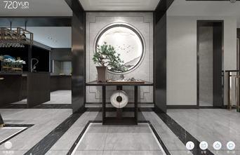 20万以上80平米别墅现代简约风格玄关装修案例