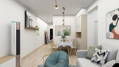 5-10万70平米一室一厅北欧风格客厅效果图