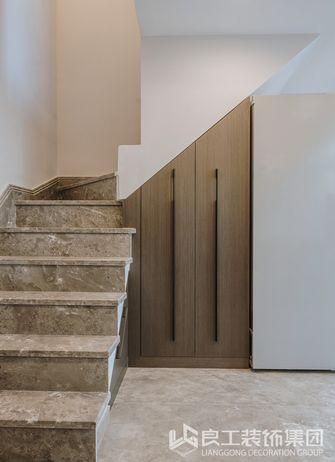 20万以上90平米现代简约风格楼梯间效果图