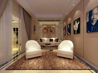 10-15万140平米别墅英伦风格影音室装修效果图