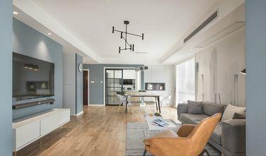 富裕型140平米三北欧风格客厅图片大全