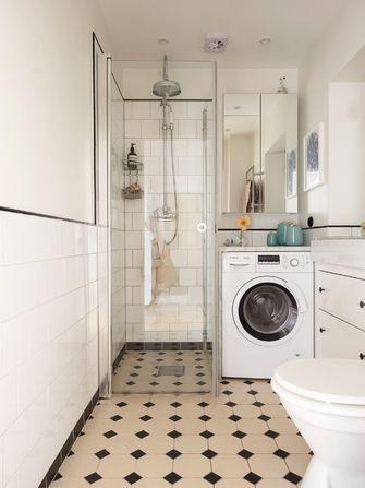 经济型50平米公寓田园风格卫生间图片