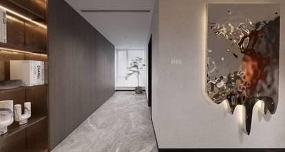 20万以上140平米别墅现代简约风格走廊装修图片大全