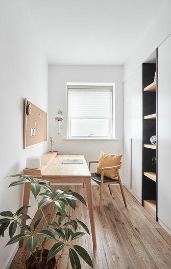 5-10万90平米三室两厅北欧风格书房欣赏图