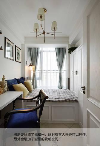10-15万80平米三室两厅欧式风格书房图片大全