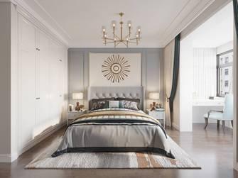 20万以上140平米三室两厅美式风格卧室欣赏图