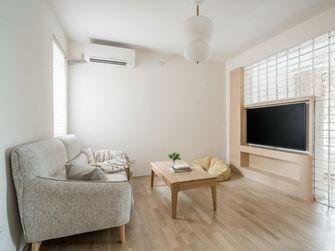 经济型60平米三室两厅日式风格客厅图