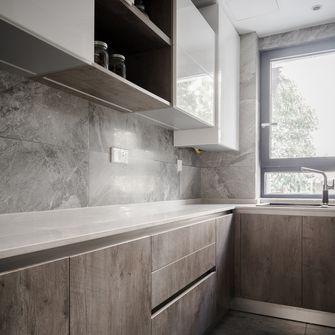50平米现代简约风格厨房图