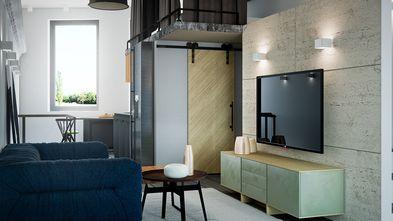 140平米复式北欧风格客厅图片