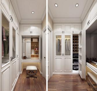 15-20万120平米三室两厅美式风格衣帽间装修案例