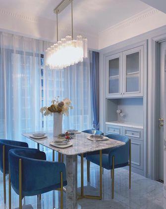 富裕型80平米欧式风格餐厅效果图