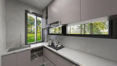 经济型50平米公寓现代简约风格厨房装修图片大全