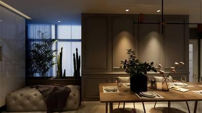 140平米四室四厅美式风格餐厅设计图