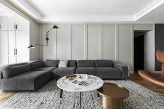 100平米三现代简约风格客厅效果图
