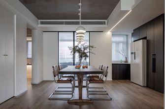 富裕型140平米别墅现代简约风格餐厅欣赏图