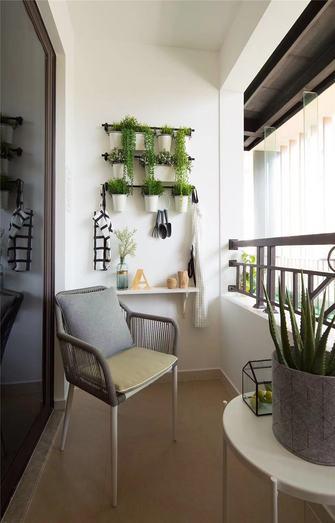 110平米三室两厅中式风格阳台装修图片大全