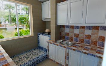 富裕型100平米三地中海风格厨房图