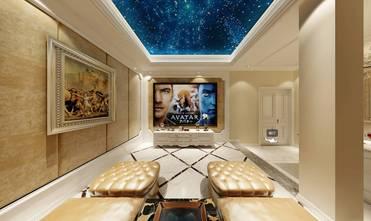 130平米三欧式风格影音室装修图片大全